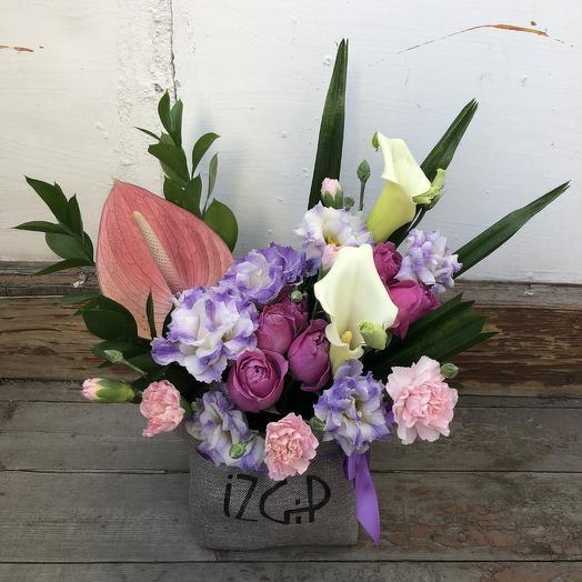 Цветочный мешочек: букеты цветов на заказ Flowwow