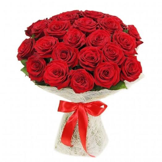 23 розы: букеты цветов на заказ Flowwow