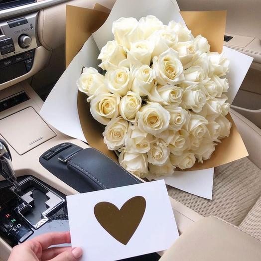 Кремовая лазурь: букеты цветов на заказ Flowwow