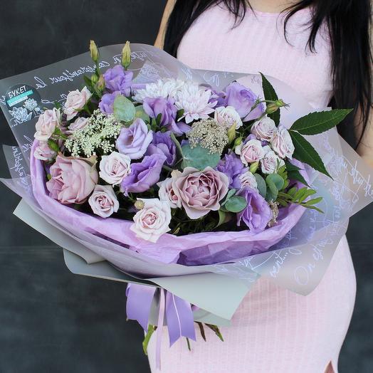 Лавандовый букетик: букеты цветов на заказ Flowwow