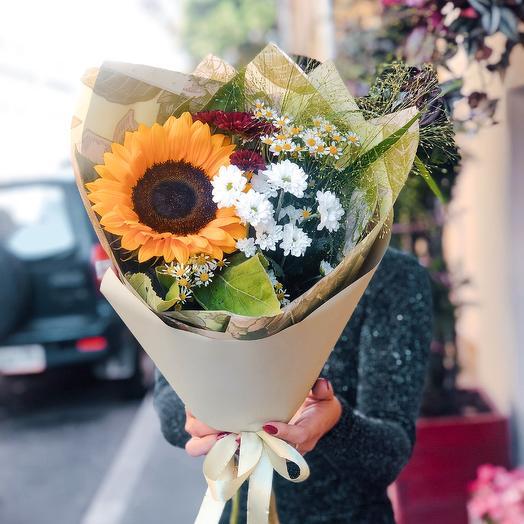 Букет Первый Класс-2: букеты цветов на заказ Flowwow