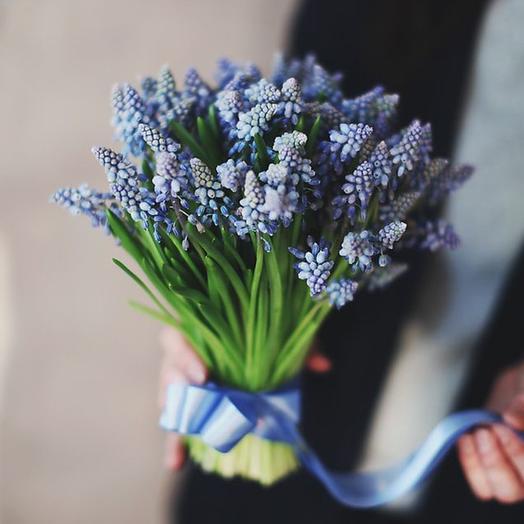 """Букет """"49 Мускари"""": букеты цветов на заказ Flowwow"""