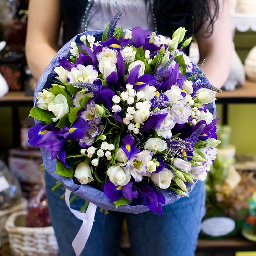 """Букет цветов """"Blue magic"""""""