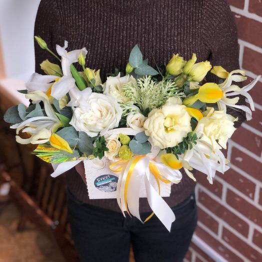 Солнечная композиция: букеты цветов на заказ Flowwow