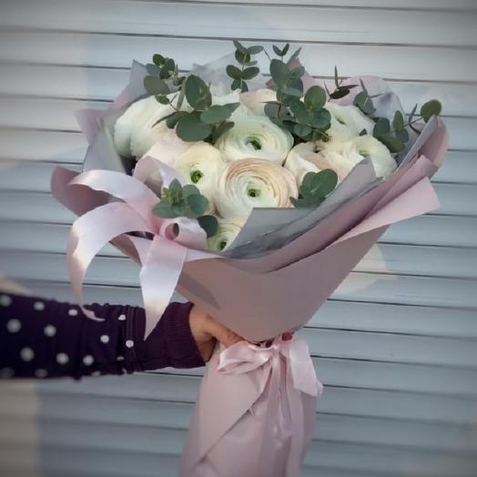 Букет из ранункулюса: букеты цветов на заказ Flowwow