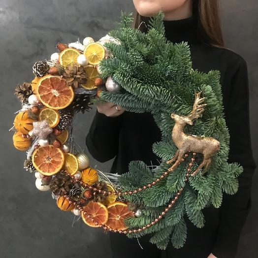 Венок Пряности и радости: букеты цветов на заказ Flowwow
