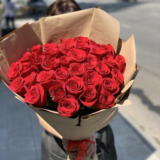 31 роза Премиум