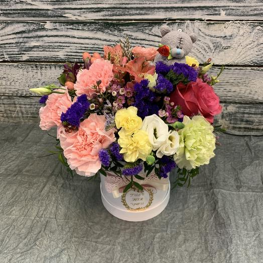 Мишка ☺️: букеты цветов на заказ Flowwow