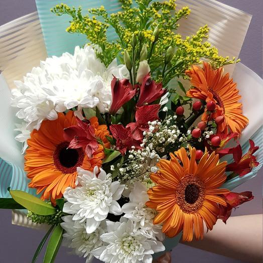 Морской закат: букеты цветов на заказ Flowwow