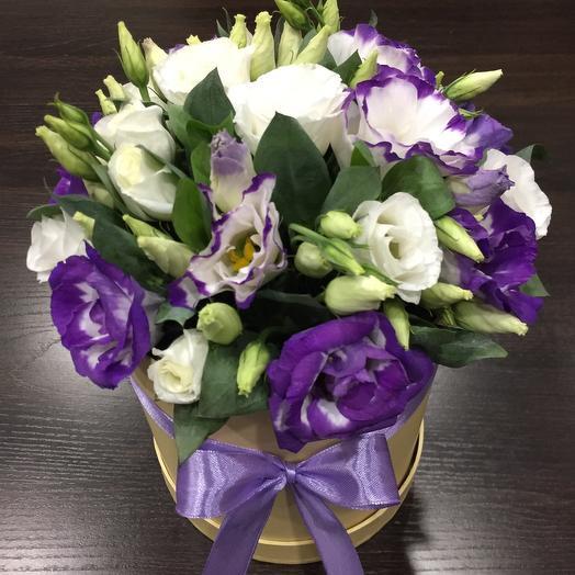 Цветы в коробке 23: букеты цветов на заказ Flowwow