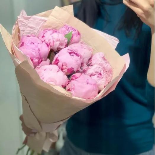Пион Сара Бернар: букеты цветов на заказ Flowwow