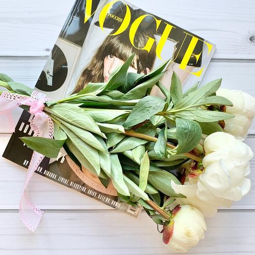 Пионовый релакс: букеты цветов на заказ Flowwow