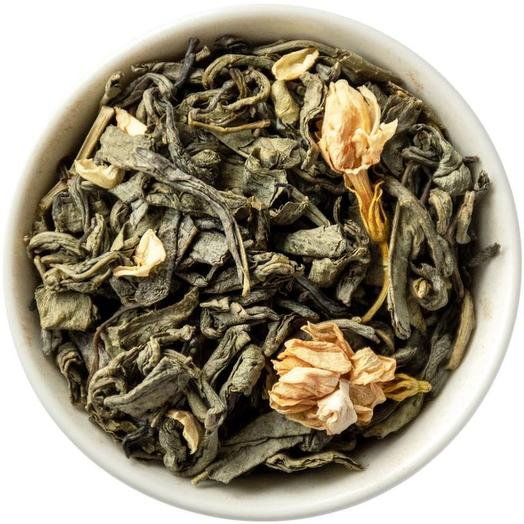 Жасминовый - зеленый чай с жасмином
