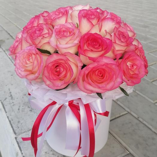 ✅ Роза в цилиндре Джумилия