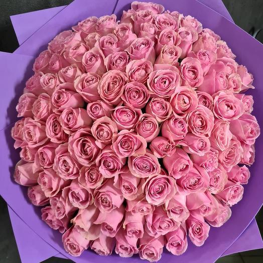 101 роза пионовидная