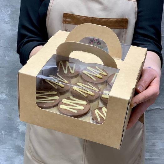 Набор пирожных Тоффи с карамелью