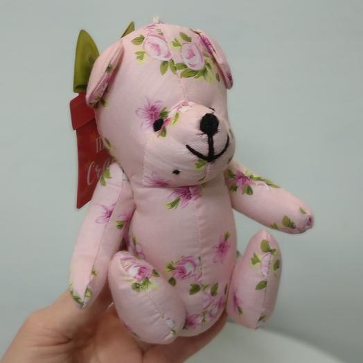 Мишка цветочный