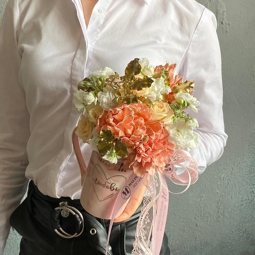 Цветочная Кружка с любовью
