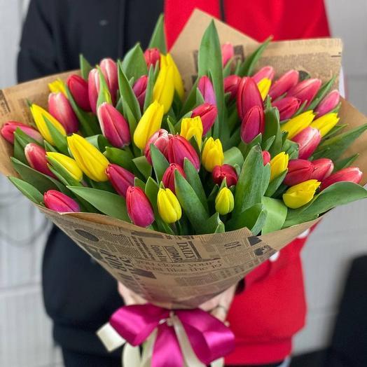 Тюльпаны ангелов