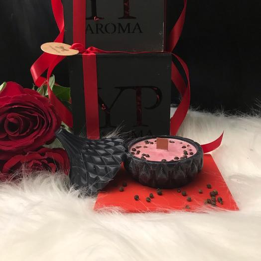 Массажная ароматическая свеча REAL FOR MAN