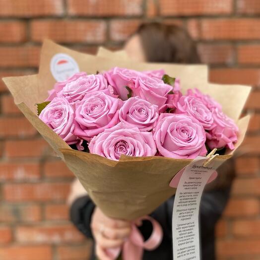 Моно букет роз