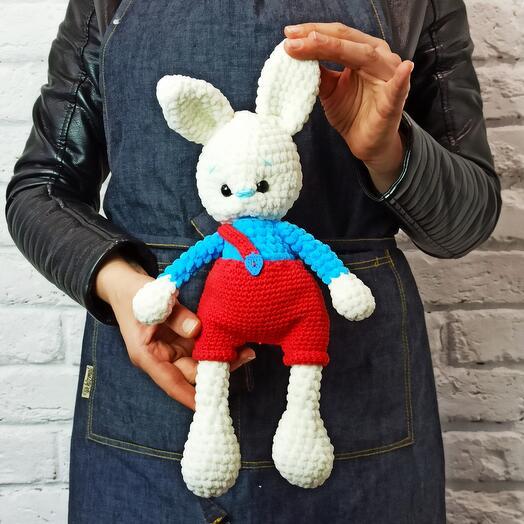 """Игрушка ручной работы """"Кролик Роджер"""""""