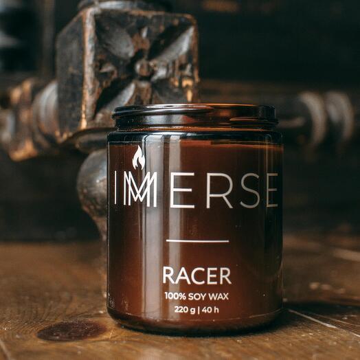 Свеча ароматическая Racer, 220 мл