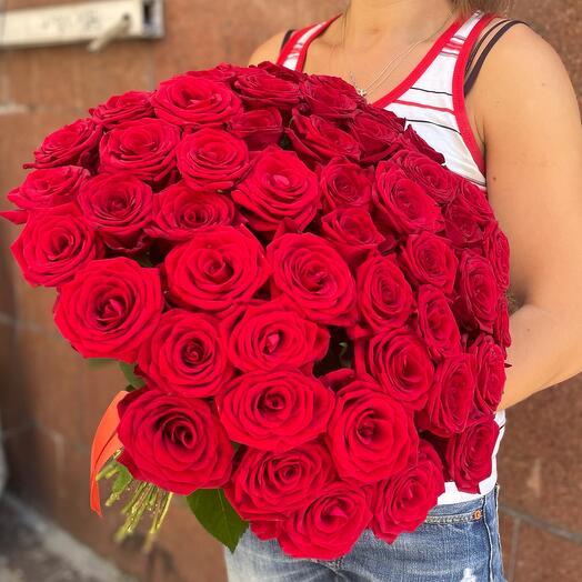 Букет 51 Красная Роза