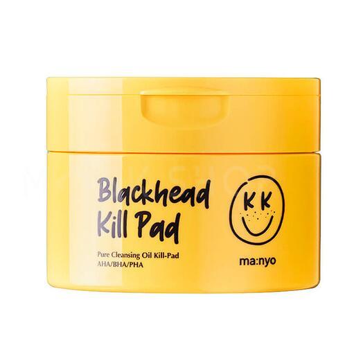 Очищающие кислотные пады против черных точек MANYO Blackhead Pure Cleansing Kill Pad