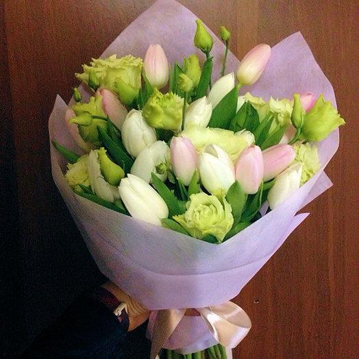 Букет 204: букеты цветов на заказ Flowwow