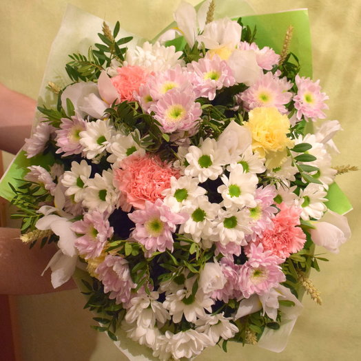 Нежная радость: букеты цветов на заказ Flowwow