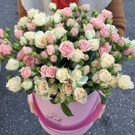 Композиция Дивный сад: букеты цветов на заказ Flowwow