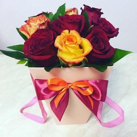 Плайм пакет с цветами: букеты цветов на заказ Flowwow