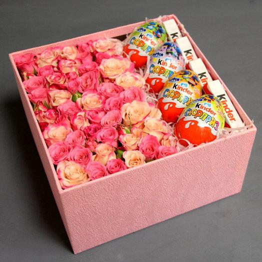 """""""Розовые мечты"""": букеты цветов на заказ Flowwow"""
