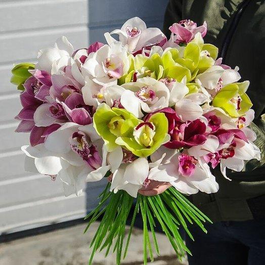 Букет Райский день: букеты цветов на заказ Flowwow