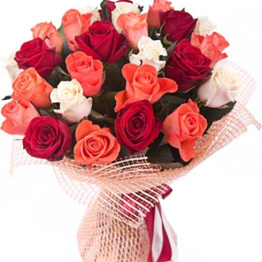 Букет сюрпиз: букеты цветов на заказ Flowwow