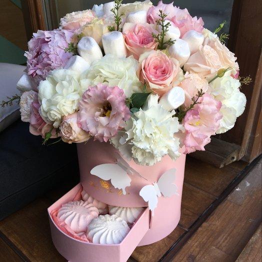 Нежное суфле: букеты цветов на заказ Flowwow
