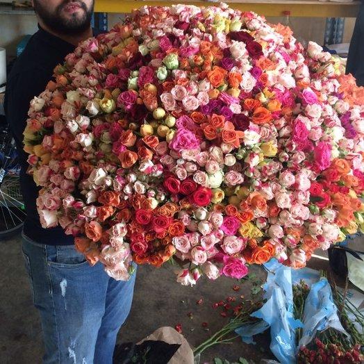 Великолепие (301)кустовая : букеты цветов на заказ Flowwow