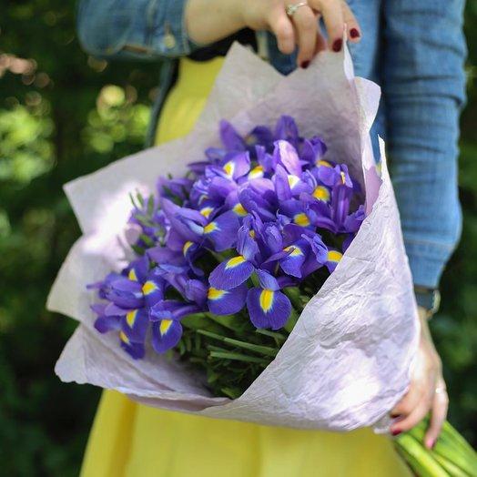"""FUNDAR """"Ирисовый бум"""" 009: букеты цветов на заказ Flowwow"""