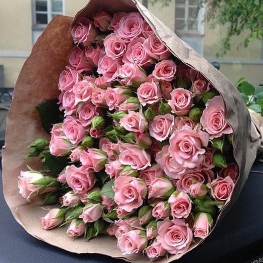 """""""Кремовой сладость"""": букеты цветов на заказ Flowwow"""