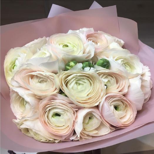 Букет из ранункулюсов: букеты цветов на заказ Flowwow