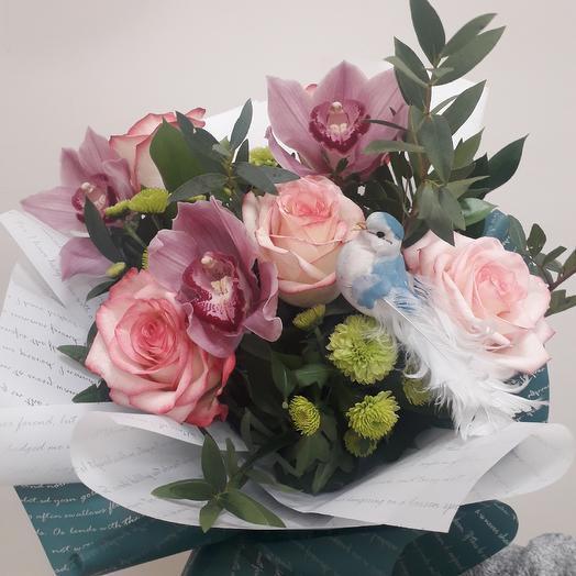 Букет от флориста Флорентина: букеты цветов на заказ Flowwow