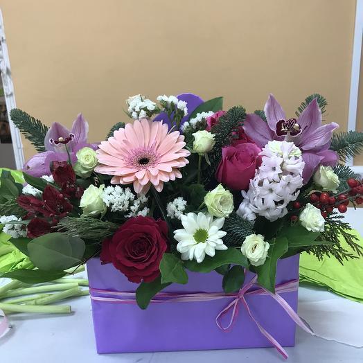 Малинка: букеты цветов на заказ Flowwow