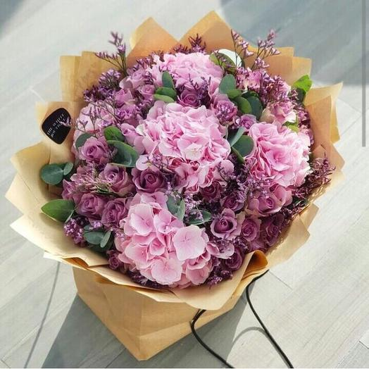 Розовые кружева: букеты цветов на заказ Flowwow