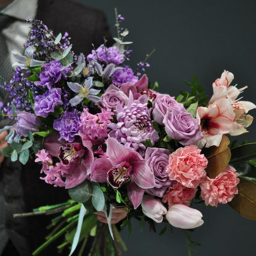 Строгость деталей: букеты цветов на заказ Flowwow