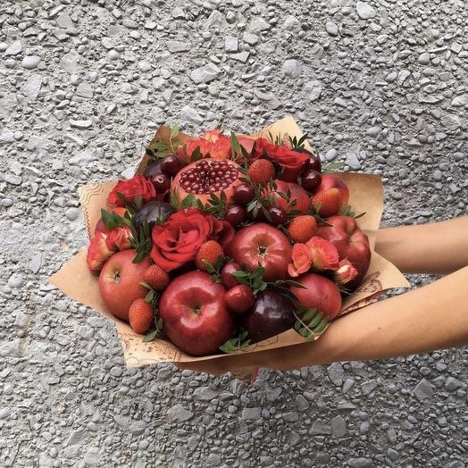 Букет  фруктовый 5: букеты цветов на заказ Flowwow