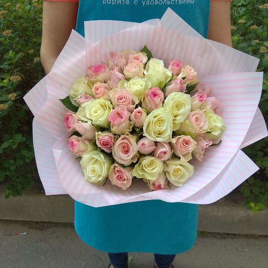 Букет из 39 роз: букеты цветов на заказ Flowwow