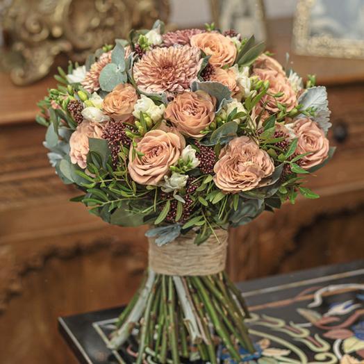 """Букет """"Каштановое Настроение"""": букеты цветов на заказ Flowwow"""