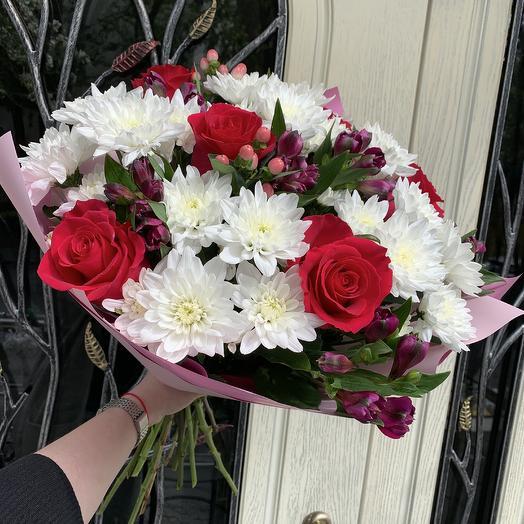 Букет для неё: букеты цветов на заказ Flowwow