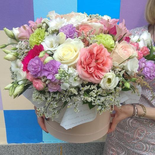 Шляпная коробка размер большой: букеты цветов на заказ Flowwow